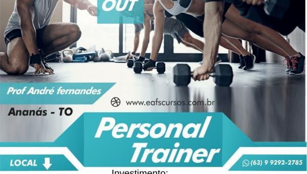 IETO oferece nesta sexta-feira (18) em Ananás o curso personal trainer