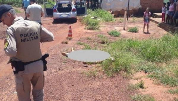 DARCINÓPOLIS: Suspeito de assaltar açougue com faca é morto por policiais