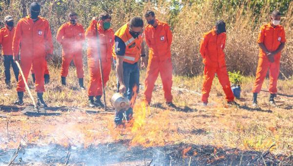 Defesa Civil Estadual define regras para as Brigadas de Combate a Incêndio