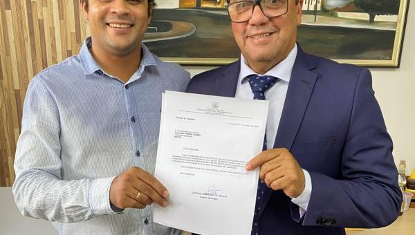 Deputado Fabion destina R$ 270 mil em emendas para Luzinópolis