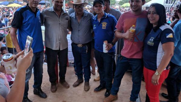 Deputado Fabion participa da tradicional Cavalgada Ecológica de Nazaré