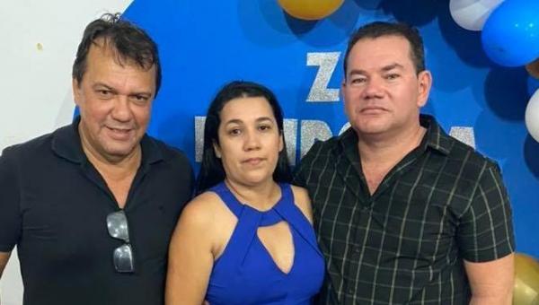 Deputado Fabion prestigia aniversário do ex-vice-prefeito de Augustinópolis, Zé Mendonça