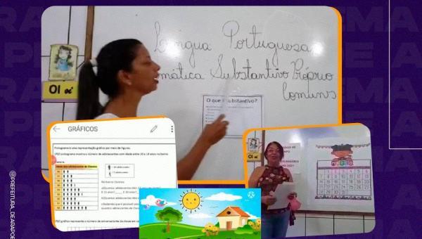 EDUCAÇÃO: Arapoema retoma aulas na rede municipal de forma remota