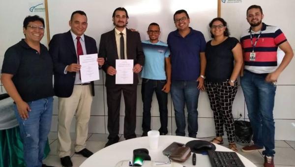 Universidade Aberta: Polo da UAB de Ananás realizou no Município Banca de Defesa de TCC dos Cursos de Administração Pública e Matemática