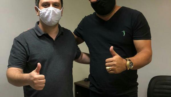 Eleições 2020: Júnior Martins se reúne com Deputado Tiago Dimas em Araguaína