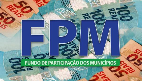 Estimativa da CNM para o primeiro FPM do mês é de R$ 3,5 bilhões; repassados na terça