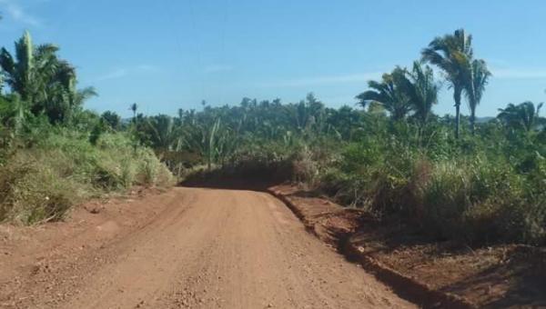 Prefeitura segue recuperando estradas vicinais em Xambioá