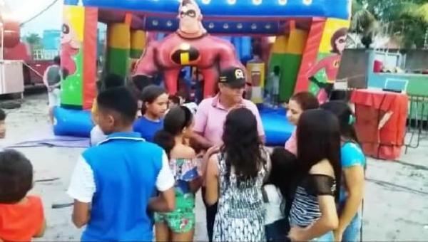 EXPOAN: Valdemar doa mais de 500 ingressos de parque para crianças