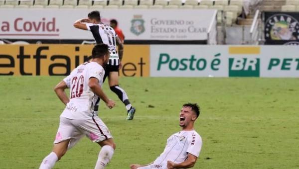 Fluminense vence o Ceará no Castelão após 16 anos de jejum, e se aproxima do G4 do Brasileirão