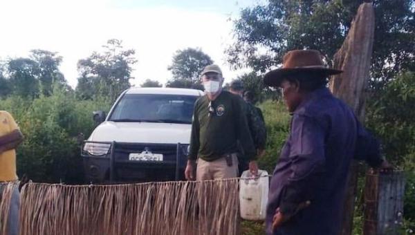 Indígenas bloqueiam estradas para evitar forasteiros em aldeias por medo do coronavírus
