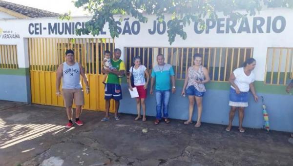 Insatisfeitos, pais reclamam de interdição de creche em Araguaína: 'fomos pegos de surpresa'