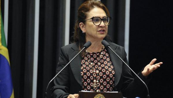 Kátia Abreu diz que Laurez faz boa administração e, por isso, vai apoiar em 2020 o candidato que ele indicar