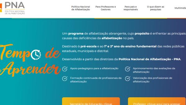 MEC encerra adesão ao programa Tempo de Aprender nesta quinta-feira (30); só 66,39% aderiram
