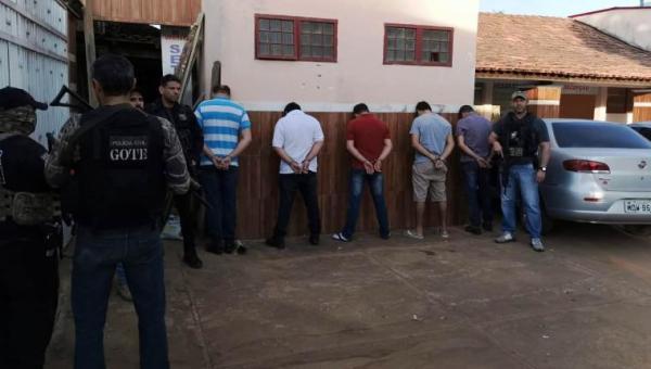 Megaoperação prende quadrilha em hotel que se preparava para roubar fazendas no Tocantins