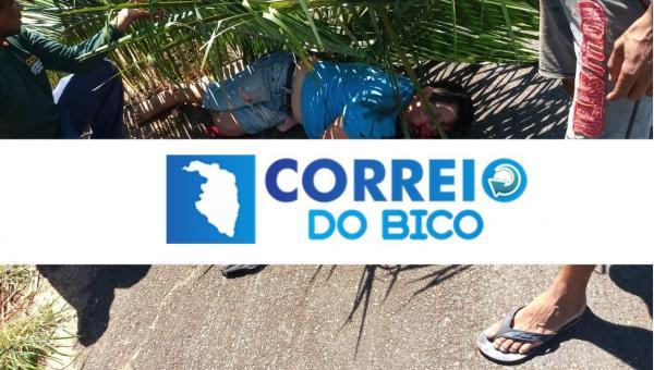 Morador de Ananás sofre grave acidente na TO-010