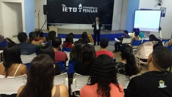 MOTIVAÇÃO: IETO realiza dois dias de palestra em Ananás