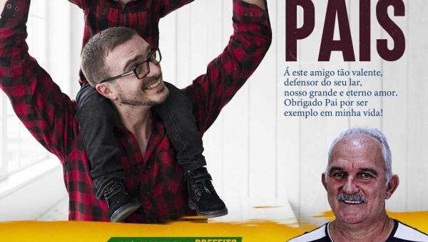 NOVA OLINDA: pré-candidato a prefeito Temis parabeniza os pais neste domingo (09) pelo seu dia