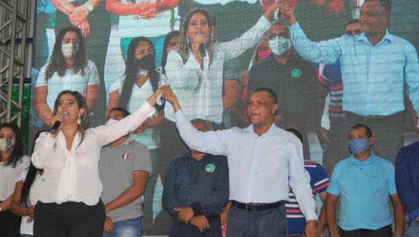 Patrícia Evelin e Raimundo Fidélis se unem para disputarem eleições municipais em Xambioá