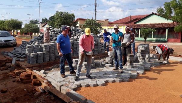 PAVIMENTAÇÃO: Avenida Betel tem trecho em avançado processo de restauração.