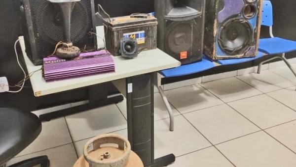 Polícia Civil do Tocantins apreende produtos furtados de uma igreja no Aureny III em março