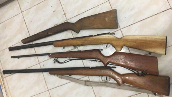 Polícia Civil Prende Homem Por Violência Doméstica e Posse e Fabricação de Arma de Fogo