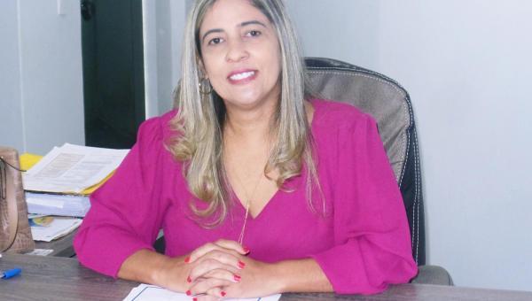 Prefeita Patrícia Evelin destaca obras e ações nos cem dias do seu novo mandato em Xambioá