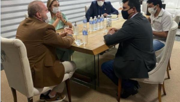 Prefeito Batista Cavalcante de Presidente Kennedy se reúne com Governador Mauro Carlesse
