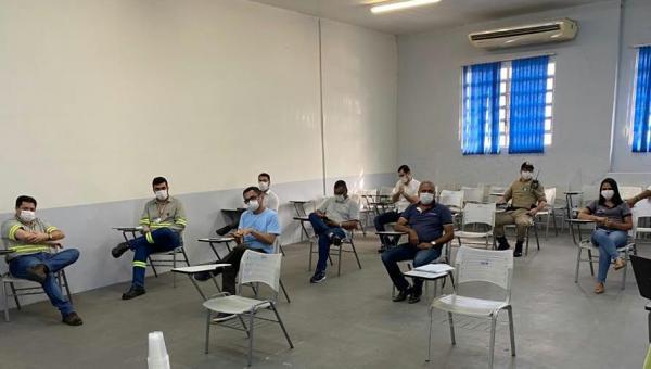 Prefeitura de Xambioá discute métodos de combate ao coronavírus com empresas e autoridades locais