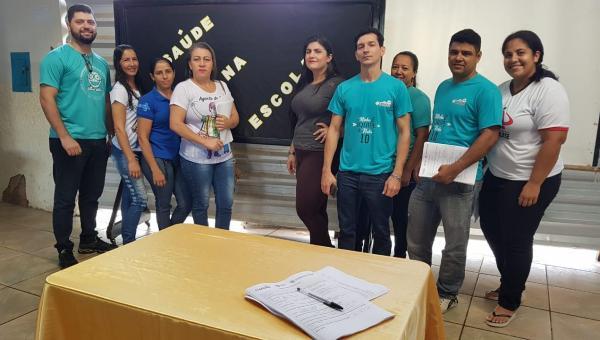 Programa Saúde na Escola é lançado em Ananás