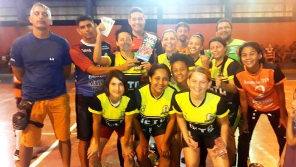 ESPORTE: times de Ananás e Piraquê vencem o Torneio de Futsal Solidário de Riachinho