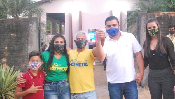 Solidariedade e Patriota escolhem Júnior Martins e Valdemar como candidatos a prefeito e a vice-prefeito em Araguanã