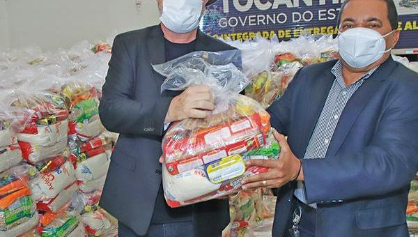 SOLIDARIEDADE: Governo do Tocantins inicia nesta segunda-feira, 18, a entrega de cestas básicas para 20 mil famílias em 42 municípios