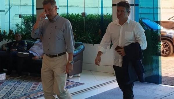 Tentativa do Flamengo de retorno aos treinos teve restrição interna e