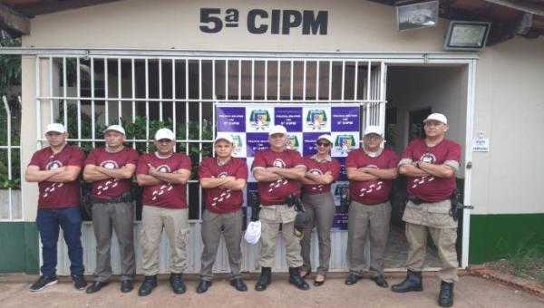 TOCANTINÓPOLIS: 5ª CIPM Adere à Campanha do Hospital do Amor – Caminhada Passos que Salvam