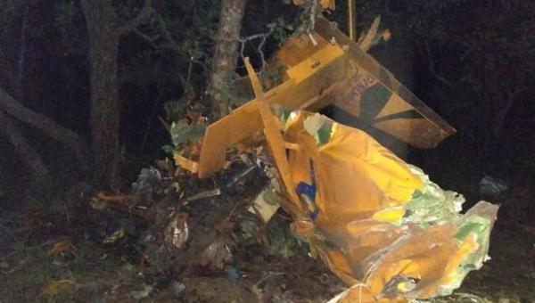 TOCANTINS: Aeronave desaparecida é encontrada no topo de serra com corpo preso aos destroços em brejinho de Nazaré