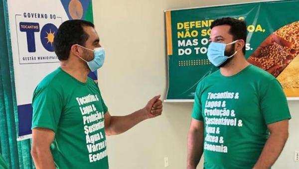 Vice-governador do Tocantins defende valorização do Agronegócio em evento na Lagoa da Confusão