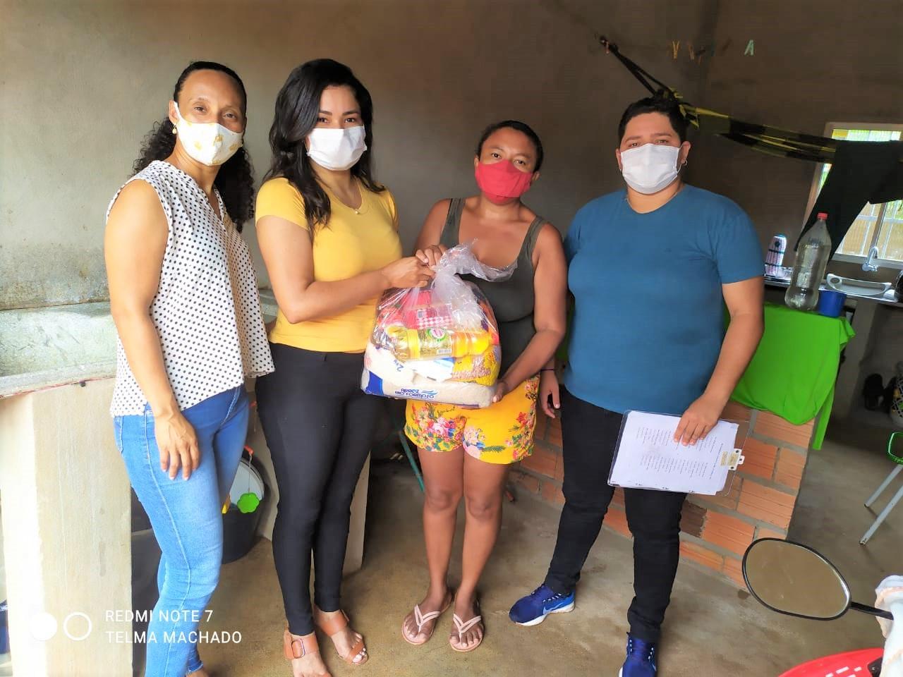 refeitura realiza ações sociais para amenizar impacto da pandemia em Ananás