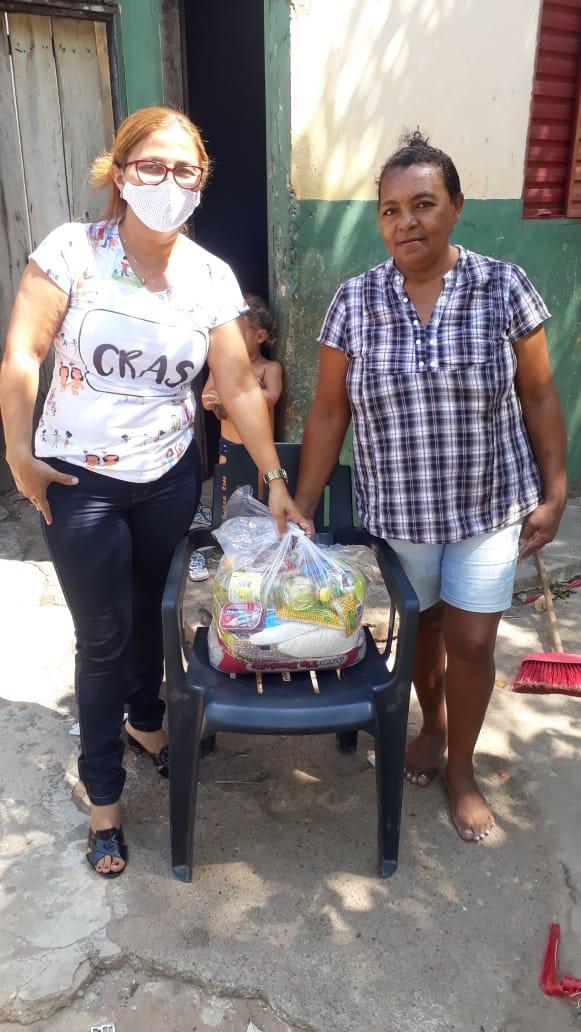Pandemia: Secretaria de Assistência Social de Ananás segue com o serviço de distribuição de cestas básicas as famílias em situação de extrema vulnerabilidade
