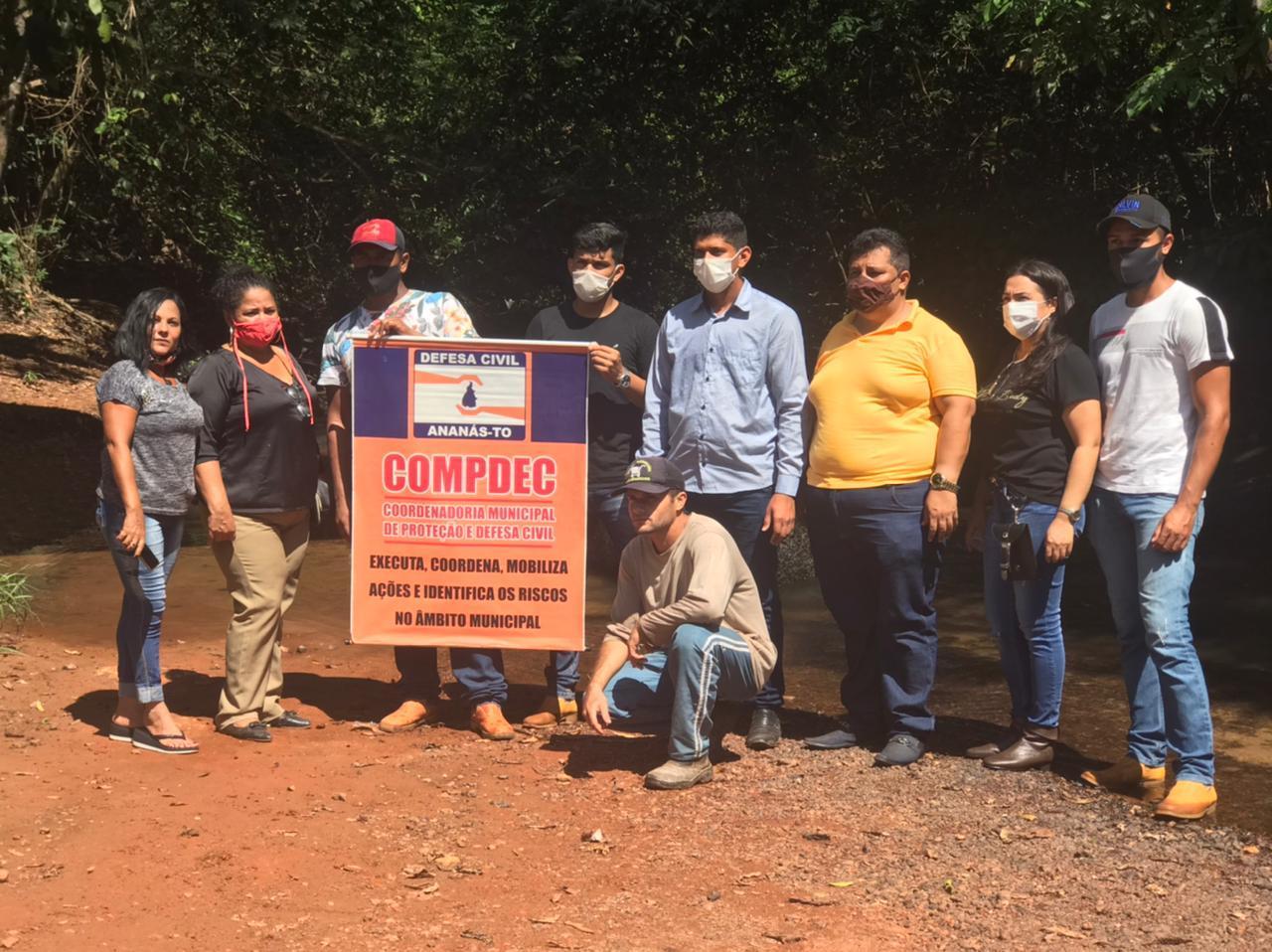 Secretaria Municipal de Assistência Social de Ananás Promove a Ação da Semana do Meio Ambiente com Crianças e Jovens