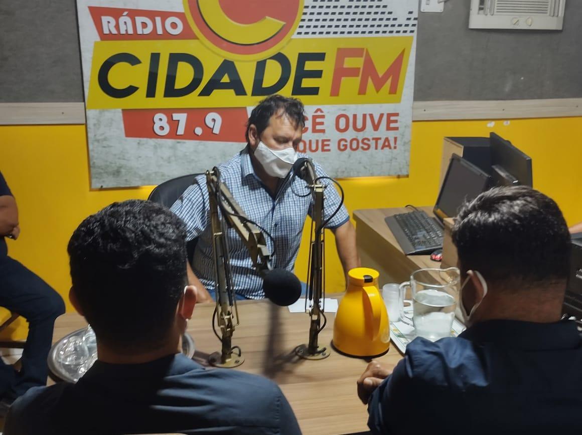 """EDUCAÇÃO: """"Implantação da Fabic já é uma realidade em Ananás"""" ressaltou o Prof. Dr. Nilton Elias"""