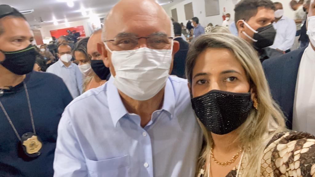 Prefeita Patrícia Evelin participa de encontro com Ministro da Educação em Araguaína