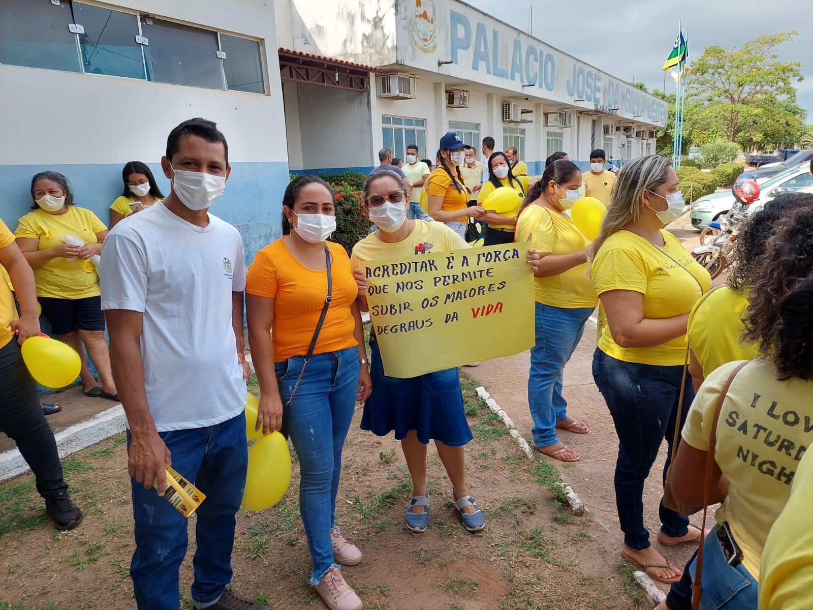 PREFEITURA DE ANANÁS REALIZOU CAMPANHA SETEMBRO AMARELO – MÊS DE PREVENÇÃO AO SUICÍDIO